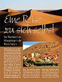Von Marrakech ins Atlasgebirge in die Wüste Sahara